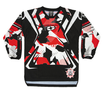 NO FEAR KID Maillot Rogue red recon camo ref 8002