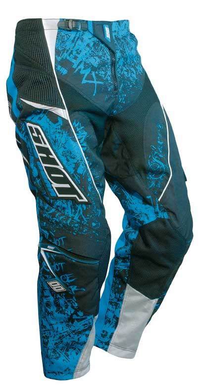 SHOT Pantalon Flexor 2008 trash bleu TAILLE 26/28