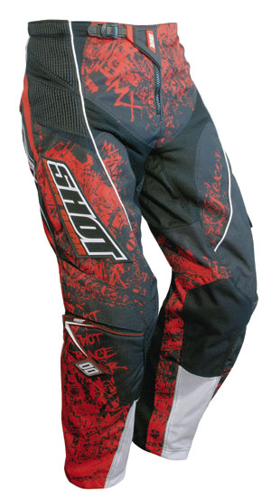SHOT Pantalon Flexor 2008 trash rouge