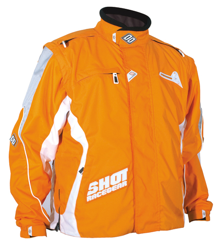 SHOT Veste Flexor  2008 orange TAILLE M