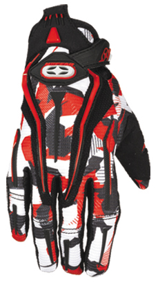 NO FEAR KID gants ROGUE 2008 red recon camo
