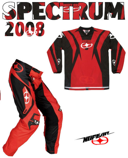 NO FEAR Pack Spectrum 2008* rouge taille 28 30 40