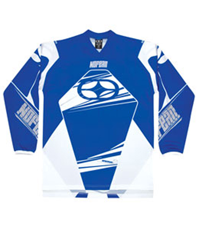 NO FEAR maillot SPECTRUM 2009 bleu XL