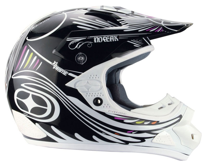NO FEAR Casque PRIME EVO dead black