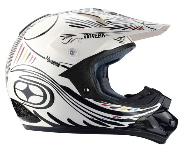 NO FEAR Casque PRIME EVO dead white