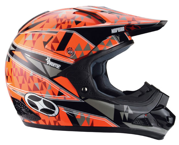 NO FEAR Casque PRIME EVO fast times red