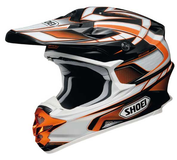 SHOEI VFX-W SABRE TC8 orange taille L et XXL