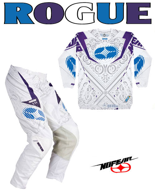 NO FEAR Pack Rogue white bandana ref 9002