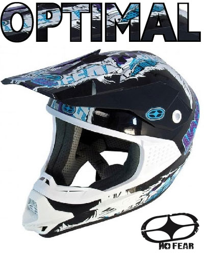NO FEAR casque OPTIMAL 2 EVO marvel blue