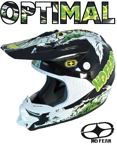 NO FEAR casque OPTIMAL 2 EVO marvel yellow