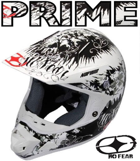 NO FEAR Casque PRIME EVO Situation