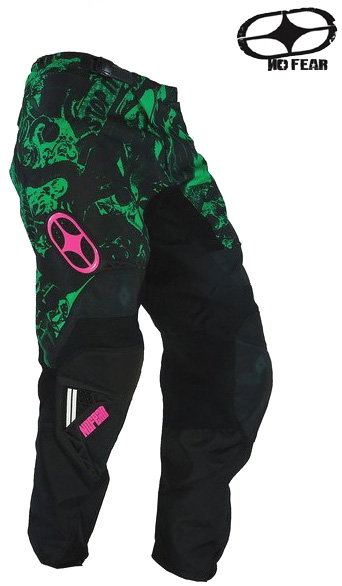NO FEAR pantalon SPECTRUM horror green ref 1102