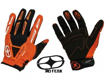 NO FEAR Gants Quartz 2011 neo/orange