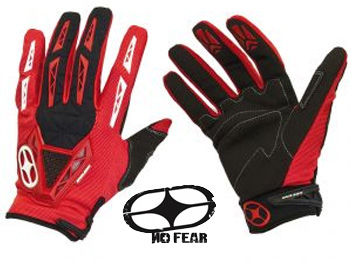 NO FEAR Gants Quartz 2011 rouge