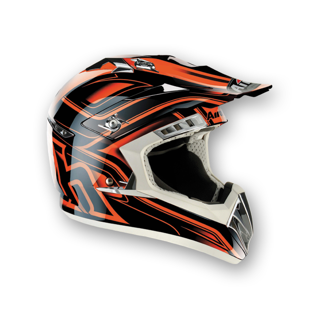 AIROH Casque CR 900 leave orange Taille XS
