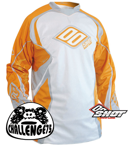 SHOT Maillot Flexor 2008 orange taille XL