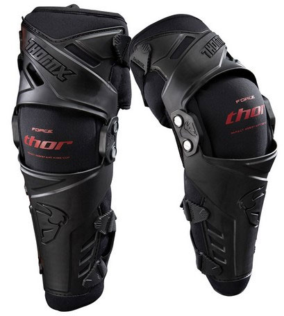 THOR Genouillères FORCE Kneeguard noir