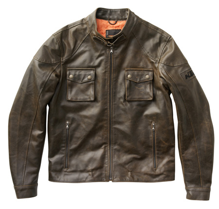 KTM MENS LEATHER JACKET