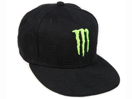 MONSTER  casquette MULTI black