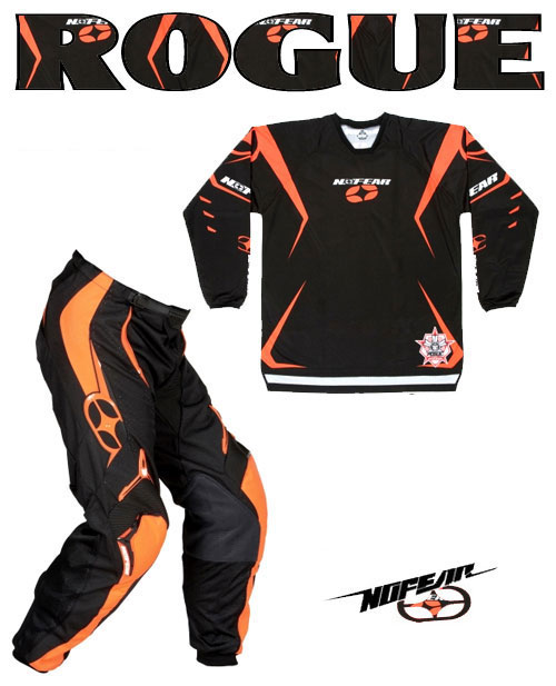 NO FEAR Pack Rogue noir orange REF 8002