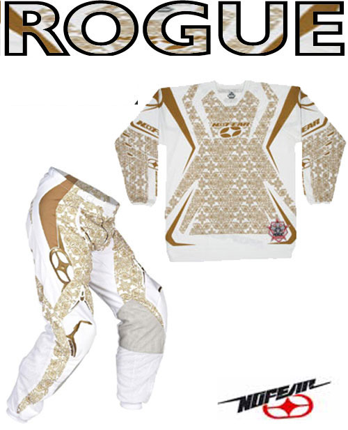 NO FEAR Pack Rogue gold medallion taille 28 ou 36 REF 8002