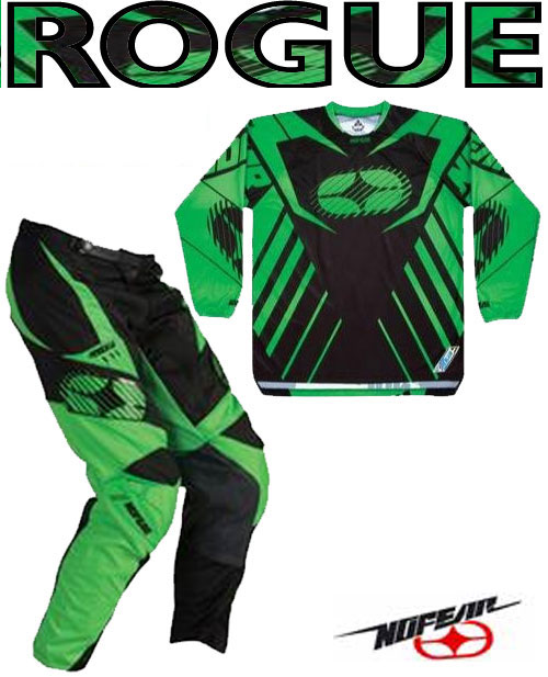 NO FEAR Pack Rogue néon vert Taille 30 XL ref 9002