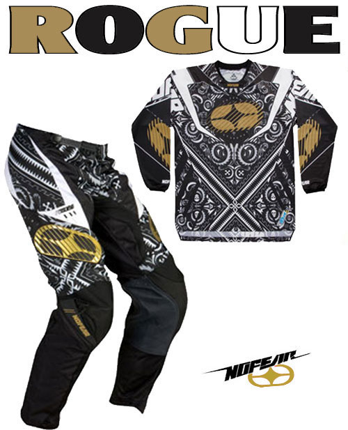 NO FEAR Pack Rogue black bandana Taille 28 ref 9002