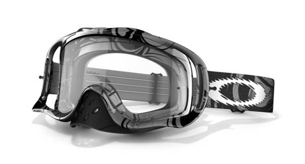 OAKLEY masque CROWBAR GREY TRIBAL 57-313