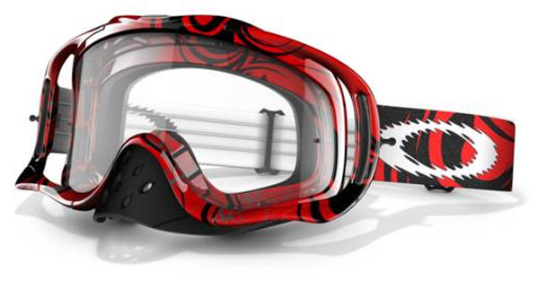 OAKLEY masque CROWBAR RED TRIBAL 57-314