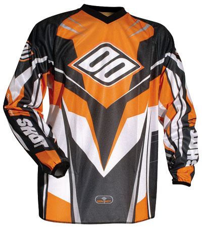 SHOT Maillot CONTACT ref 6002 orange Tailles XL