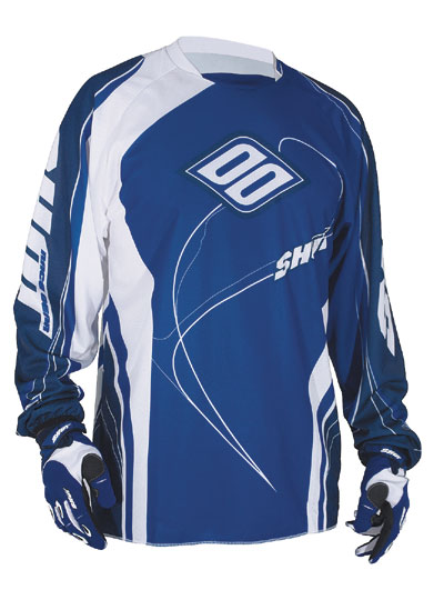 SHOT Maillot CONTACT 2009 bleu Taille S M XL