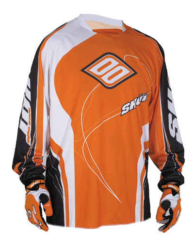 SHOT Maillot CONTACT 2009 orange Taille S M XL