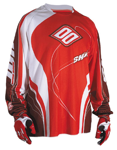 SHOT Maillot CONTACT ref 9002 rouge TAILLE XL et XXL