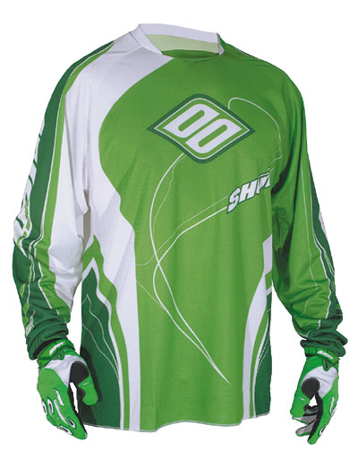 SHOT Maillot KID Contact  2009 vert
