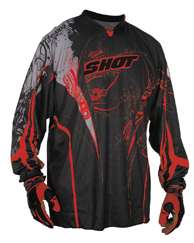 SHOT Maillot Flexor 2009 Abyss rouge