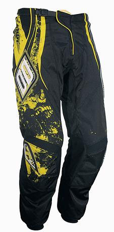 SHOT Pantalon CONTACT 2009 skull jaune taille 36
