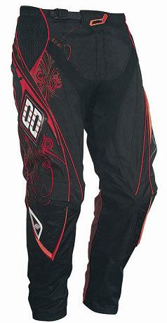 SHOT Pantalon FLEXOR 2009 ABYSS rouge TAILLE 26 28