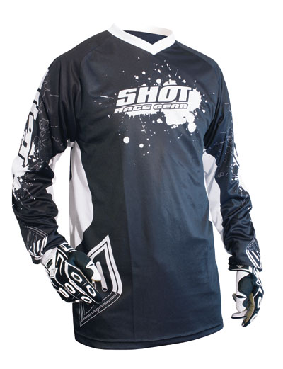 SHOT Maillot FREERIDE 2008 noir taille XL