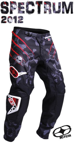 NO FEAR pantalon SPECTRUM energy rouge ref 1202