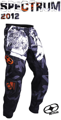 NO FEAR pantalon SPECTRUM scratch silver orange ref 1202