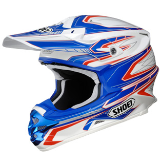SHOEI VFX-W DASH TC2  patriot TAILLE XXL
