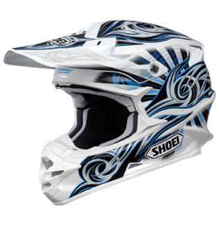 SHOEI VFX-W ILLUSION TC2 bleu
