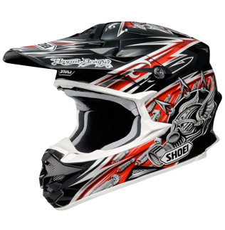 SHOEI VFX-W Réplica DUB TC1 rouge