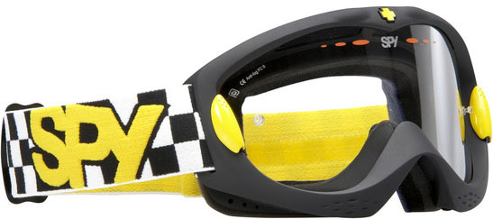 SPY ALLOY Fast time Noir/jaune