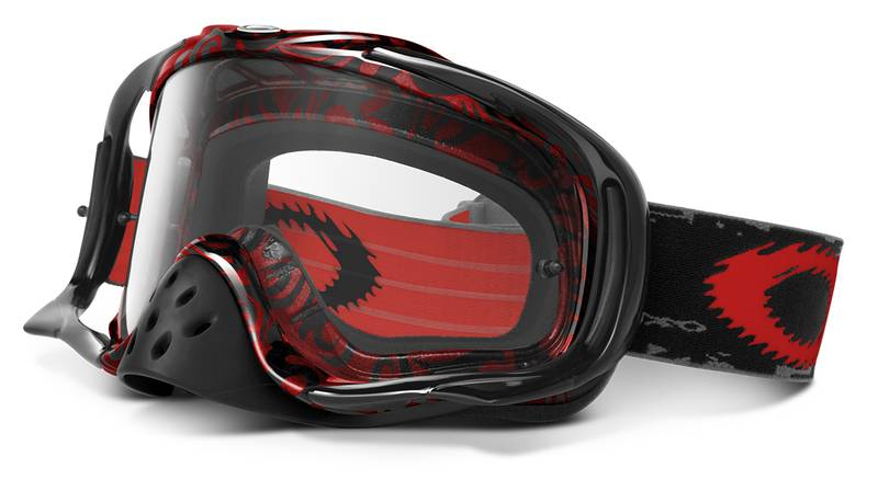 OAKLEY masque CROWBAR red tribal 01-695