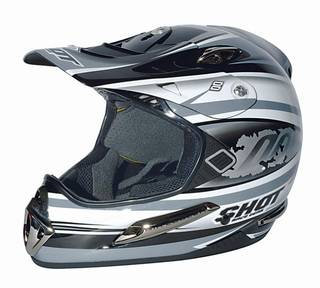 SHOT casque Fight Titanium