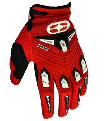 NO FEAR Gants Formula 2011 rouge