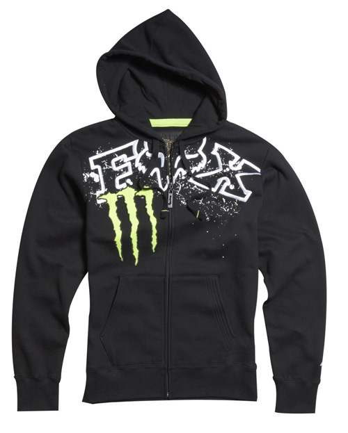 FOX MONSTER sweat RC replica Zip noir