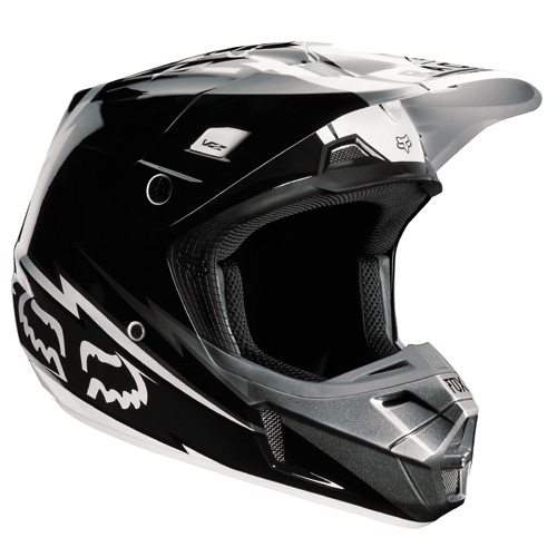 FOX casque V2 2013 GIANT noir