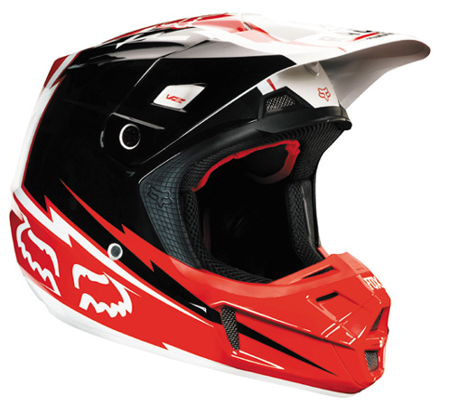 FOX casque V2 2013 GIANT rouge